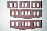 Korber #104A - HO Scale - Roundhouse Extra Stall Kit