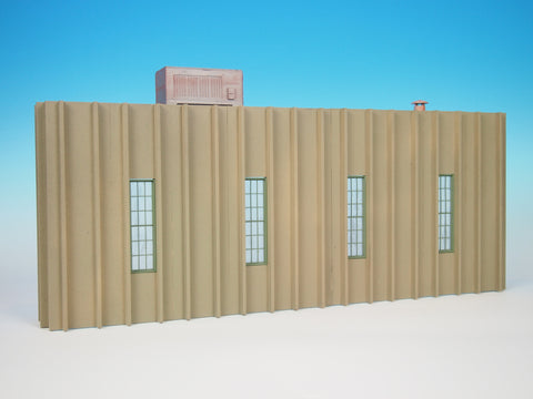 Korber Models #TT2311 O Scale Double A Plastics Background Building
