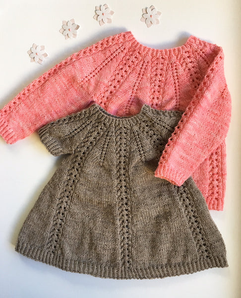 Seraphina Sweater and Dress - English