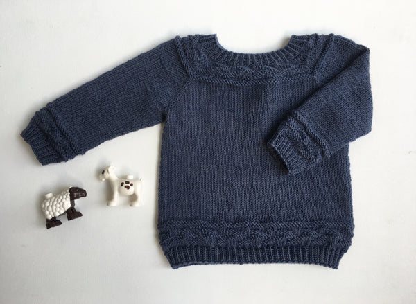 Lucius Sweater - English