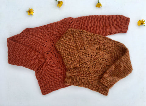 Sweet Maple Sweater - English