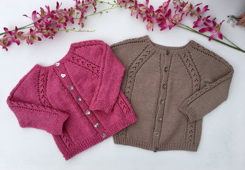 Oriana Cardigan - English