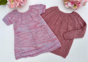 Melusina Sweater and Dress - English