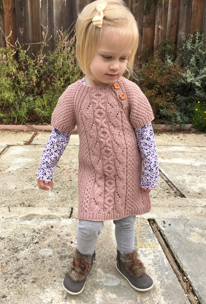 Amity Sweater, Vest and Tunic - English