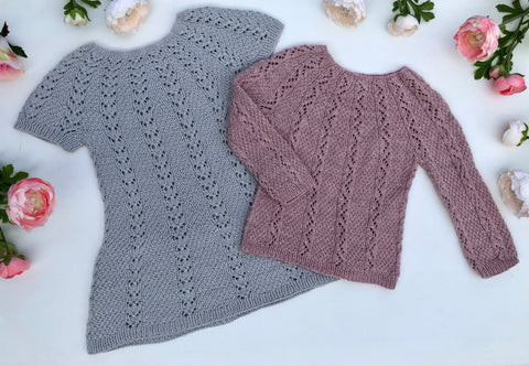 Stellatina Sweater and Dress - English