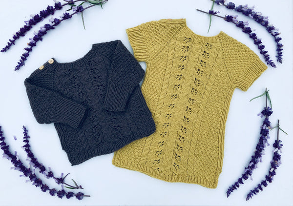 Fabia Sweater and Dress - English