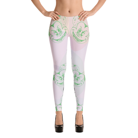 Narcando Canada Evil Mickey Mouse Leggings