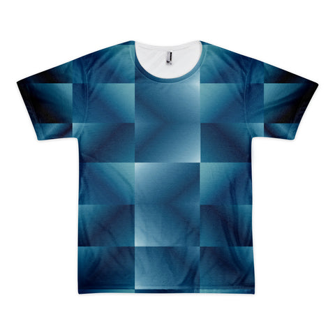 Spotnicks Spotlights Short sleeve men's t-shirt (unisex lost blue)
