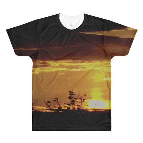 Narcando Canada Lost In LIFE's Golden Moment Sublimation crewneck t-shirt