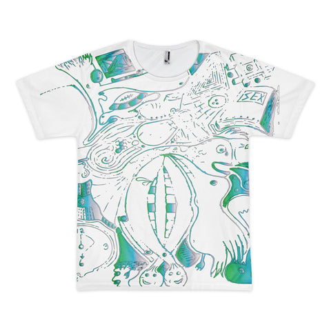 Lifes Abstraction Short sleeve men's t-shirt (unisex)