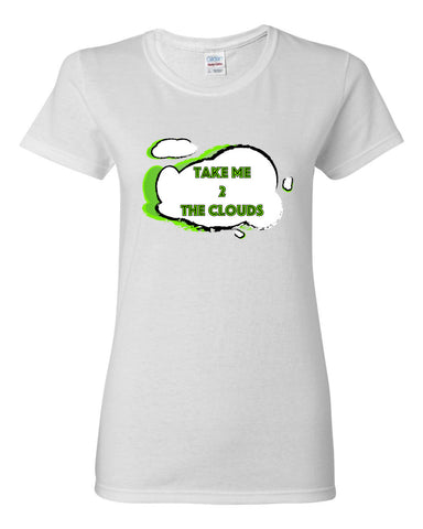 Take Me 2 The Clouds Women's short sleeve t-shirt
