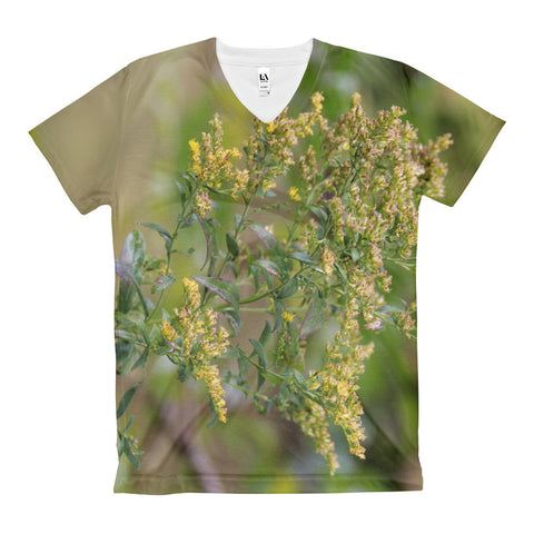 Women's Parsnip Beauty V-Neck T-Shirt