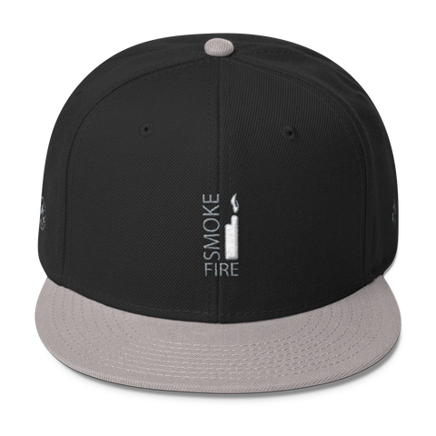 Narcando Canada Smoke Fire Wool Blend Snapback