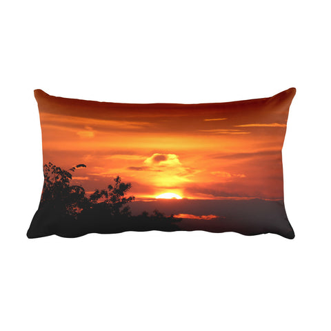 Serine Sunset Rectangular Pillow