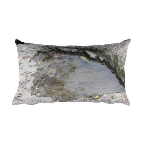 Heart Of Stone Rectangular Pillow
