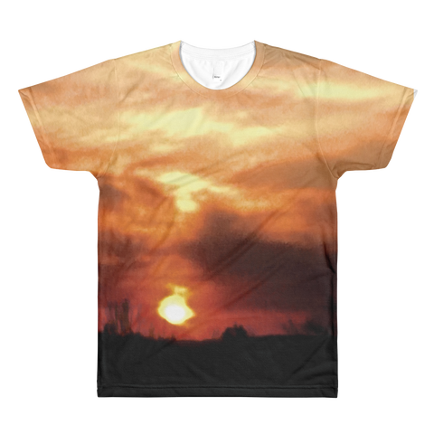 Narcando Canada Lost In Life's Darkness Sublimation crewneck t-shirt
