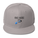 Narcando Canada One More Drink Wool Blend Snapback