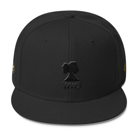 Narcando Canada World Ward 3 WW3 Wool Blend Snapback