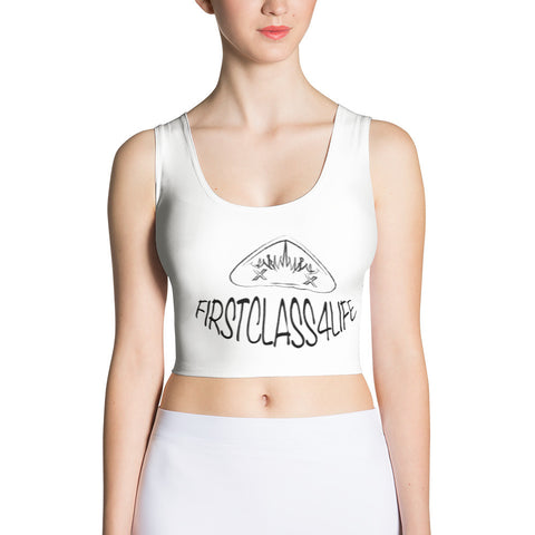 Firstclass4life SketchME Cut & Sew Crop Top