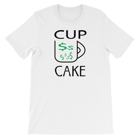 Narcando Canada CUP CAKE Unisex short sleeve t-shirt