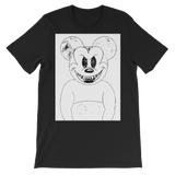 Evil Mickey Mouse Unisex short sleeve t-shirt