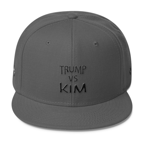 Narcando Canada Trump Vs Kim Wool Blend Snapback