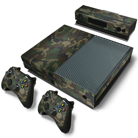 Narcando Camouflage Camo XBOX One Vinyl Decal Sticker