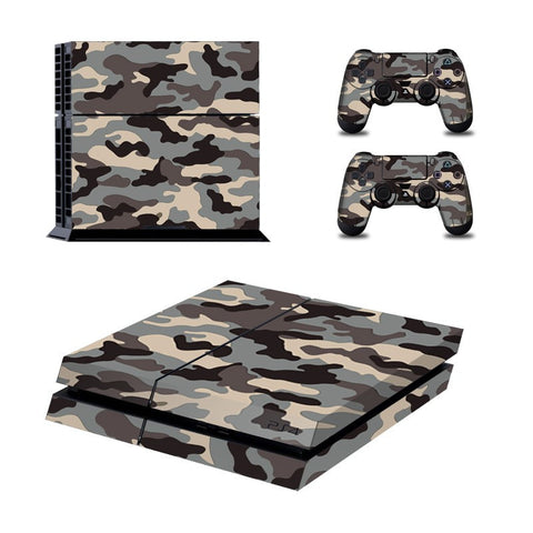 Narcando Camo PS4 Vinyl Decal Sticker