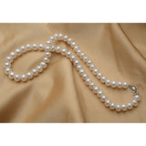 Narcando freshwater pearls for women - pearl diameter 9-10mm 18inch long