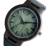 Narcando Hate Me Deeply Wooden Watch