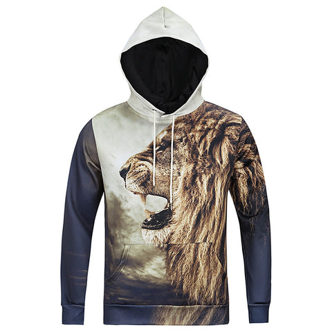Narcando Canada Lion Stride Hoodie
