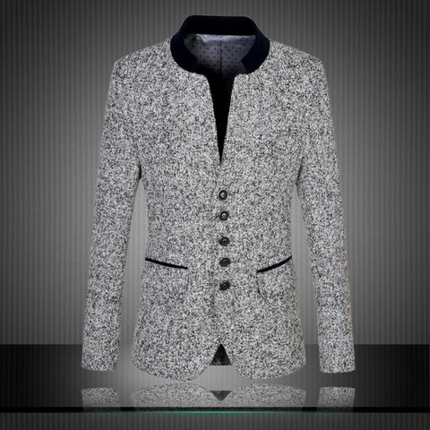 Tv Shock Mens Slim Fit Blazer