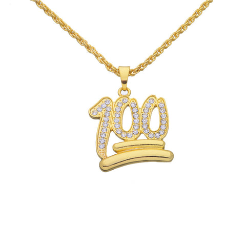 Narcando Canada 24k Gold 100 Chain Necklace