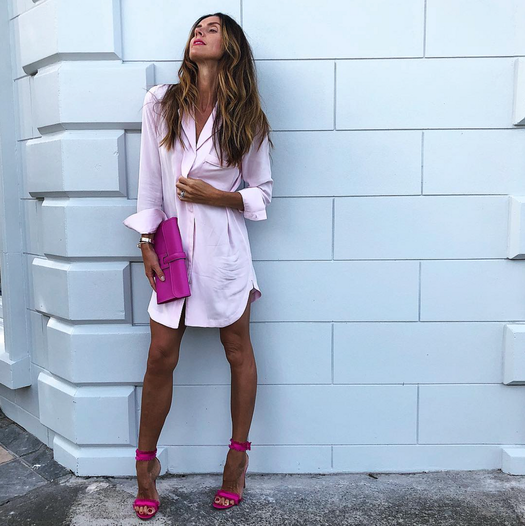 @sirensandseaplanes wears Ava nightshirt in Florida