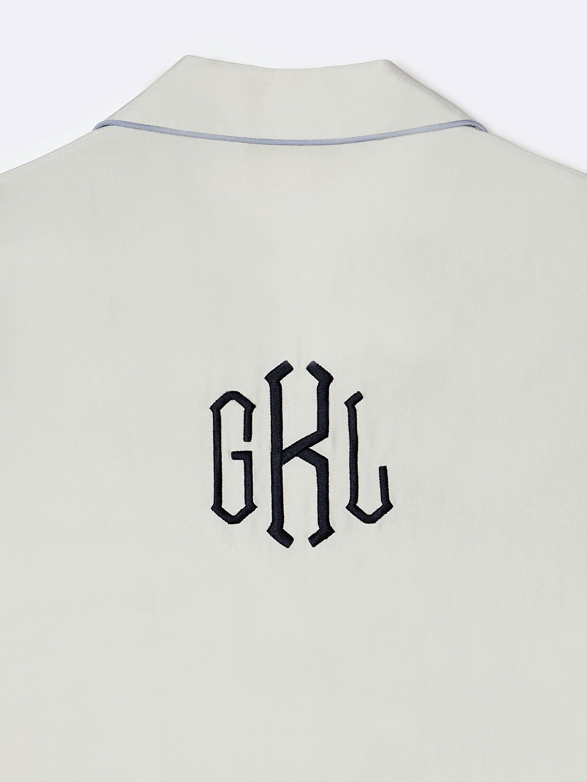 Crest on Back Monogramming