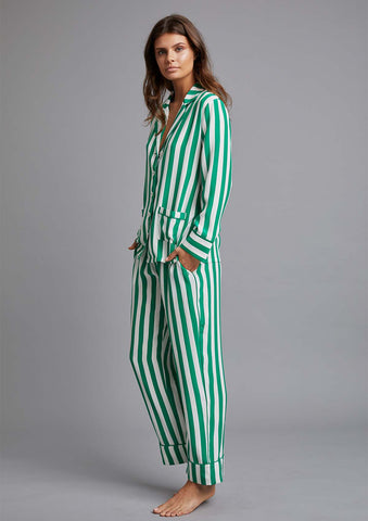 PALOMA PYJAMA SHIRT in NERO