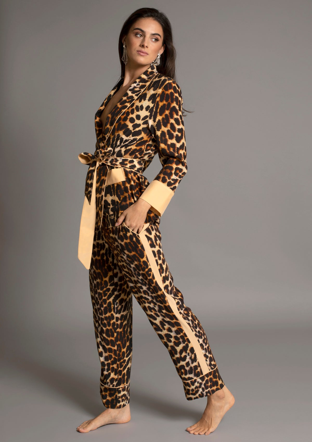 BRANDO JACKET in LEOPARD