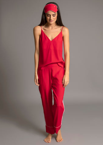 PALOMA PYJAMA PANT in ROUGE