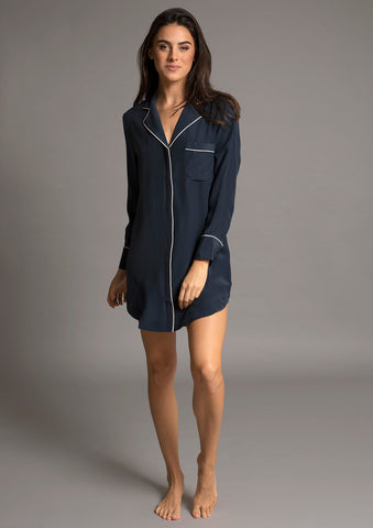 AVA NIGHTSHIRT in ATLANTIC