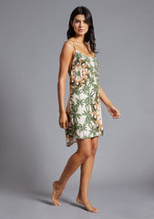 SABINE SLIP DRESS in SERENGETI