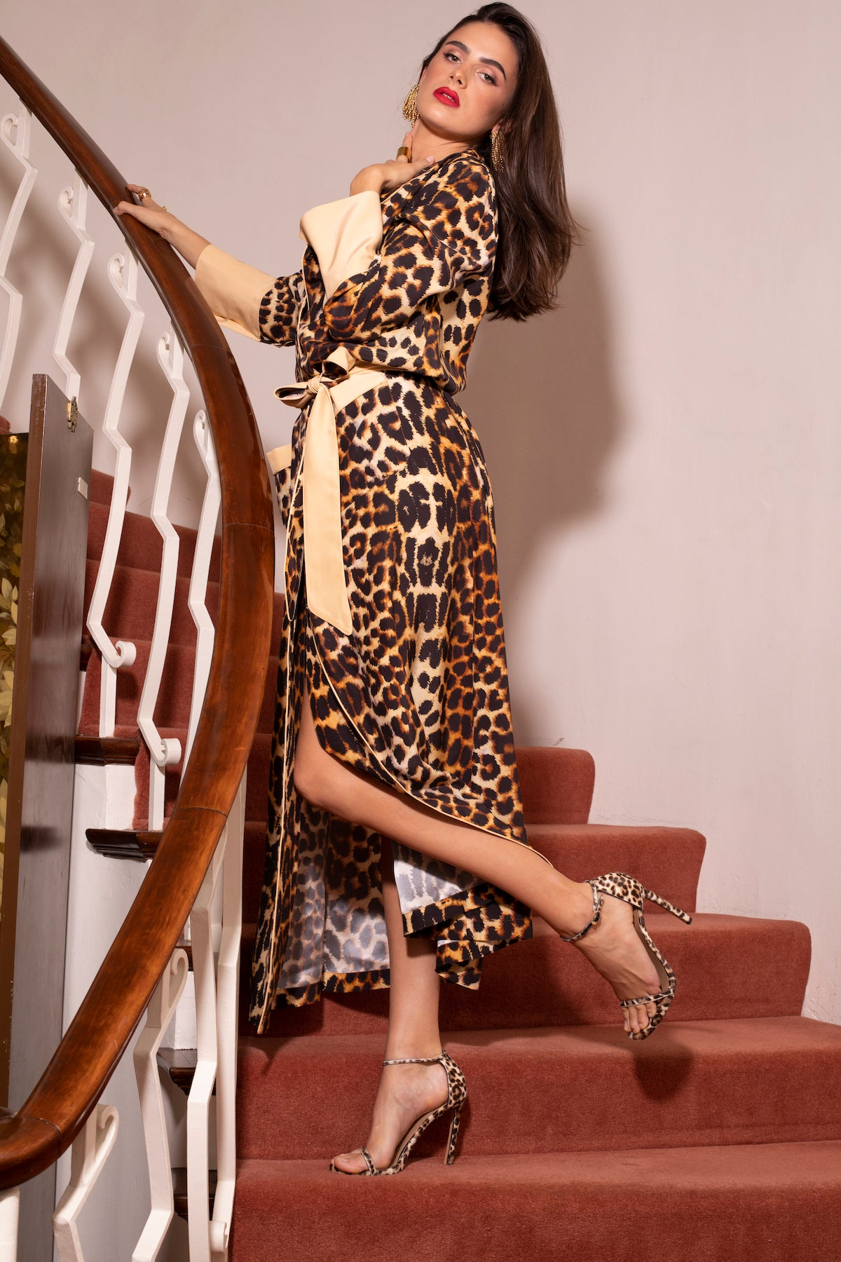 MARELLA DRESS in LEOPARD