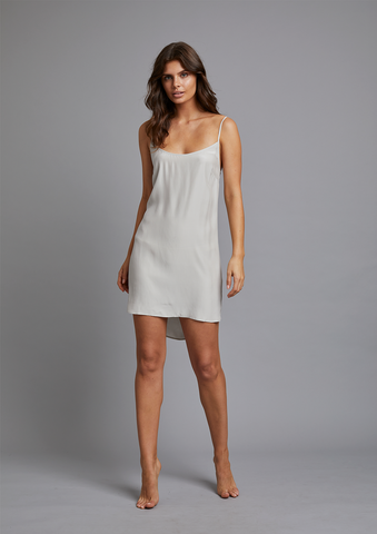 SABINE SLIP DRESS in MOONLIT
