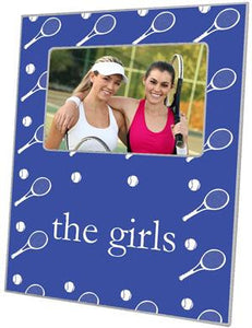 Blue Tennis Picture Frame