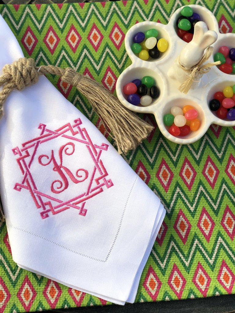 Sferra Classico Napkin with Monogram