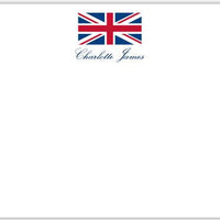 Union Jack Flat Notecard