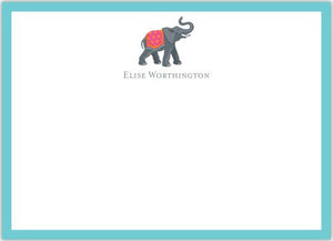 Elephant Flat Notecard