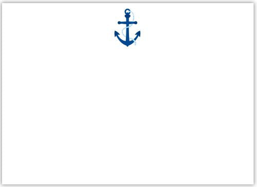 Anchor Flat Notecard