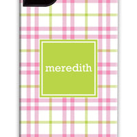 Corporate Tartan Pink & Green Phone Case
