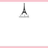 Eiffel Tower Flat Notecard