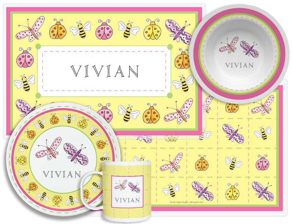 Garden Party Plate & Placemat